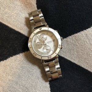 Fossil Watch + Tin